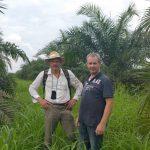 palmen bezoek bedrijf ecuador